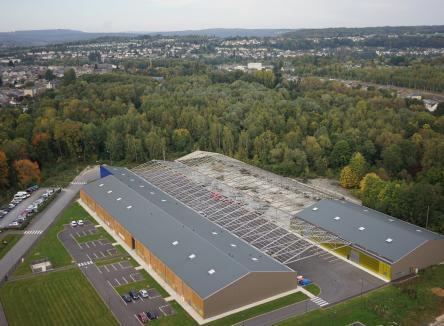 La partie ACTIVENCE 1 du Parc d'Activités du Val de Vence à Charleville-Mézières dans les Ardennes étant quasi-complète, la Communauté d'Agglomération Ardenne Métropole a lancé l'aménagement d'ACTIVENCE 2 avec la société PROTEAME, dont la livraison vient d'être effectuée en ce début d'année 2019