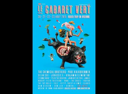 Rodéo Trip en Ardennes : la nouvelle affiche du Cabaret Vert est dévoilée !