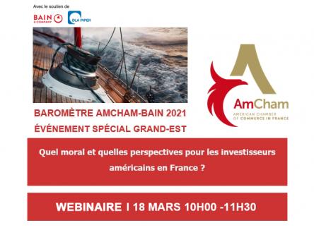 Baromètre AmCham-Bain : des opportunités à saisir avec les Etats-Unis