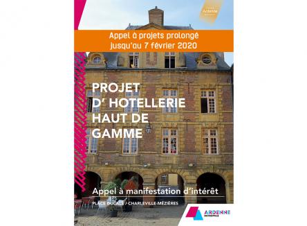 Ardenne Métropole a lancé un appel à manifestation d'intérêt pour créer un hôtel haut de gamme sur la célèbre place de Charleville-Mézières. Les opérateurs ont jusqu'au 7 février 2020 pour se faire connaître et retirer un dossier