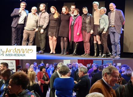 Lancée en 2017, la dernière soirée Ardennes Inter-Réseaux a eu lieu à Charleville-Mézières le 21 novembre 2019 en présence de Philippe Gabilliet, porte-parole de la « Ligue des Optimistes de France »