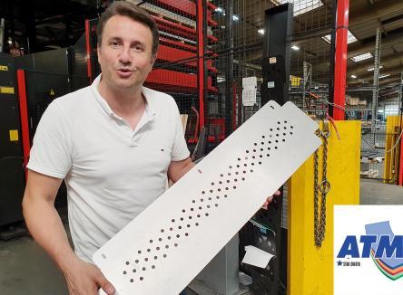 Accompagnée par Ardennes Développement, l'agence de développement économique des Ardennes, la société ATM (Automatisme Tôlerie Mécanique) à Carignan a été reprise depuis un an par quatre entrepreneurs expérimentés