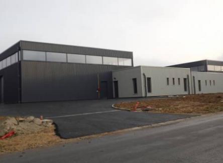 Une village PME s'est installé dans la commune de Mouzon au niveau de la zone industrielle François Sommer