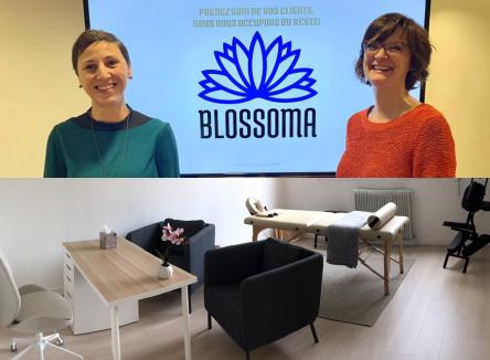 Mardi 26 Novembre 2019, la jeune entreprise ardennaise Blossoma a inauguré son premier centre à Charleville-Mézières
