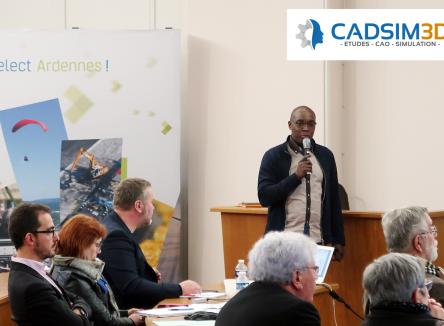 L'entreprise CADSIM 3D créée dans les Ardennes courant 2017, à Charleville-Mézières, accompagnée par Ardennes Développement, s'installe comme un des acteurs majeurs de la simulation numérique et de l'optimisation des structures mécaniques pour l'industrie dans le Grand Est