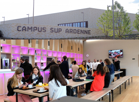 Campus Sup Ardenne: the ambitious project is now a reality