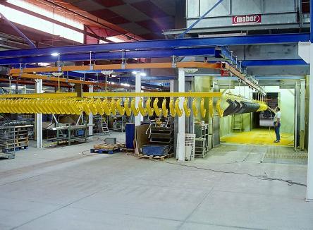 ATM, société de sous-traitance en tôlerie et peinture industrielle, dans les Ardennes au Nord-Est de la France