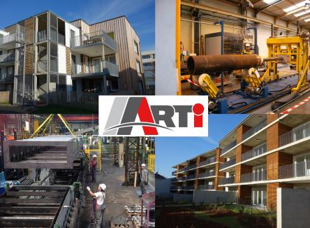 Located at Prix-les-Mézières in the Ardennes, ARTI production is a major player in industrial maintenance, special machinery construction, locksmithing and metalwork, and is currently celebrating 30 years as a company
