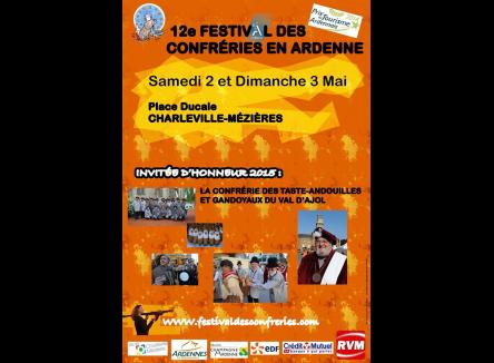 12ème festival des Confréries en Ardenne, patrimoine gastronomique et produits du terroir
