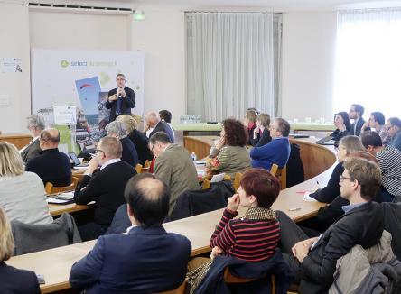 Mardi 9 avril 2019 à Sedan, Ardennes Développement a profité de la réunion de son Conseil pour lancer son nouveau site internet et organiser une conférence ouverte sur l'attractivité économique des territoires, animée par Vincent Gollain