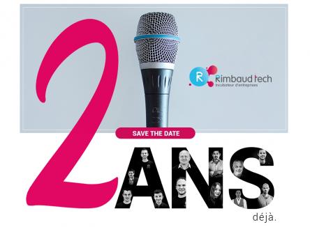 Le 11 septembre 2019, l'incubateur ardennais d'entreprises Rimbaud'Tech fêtera deux ans d'activité lors d'une soirée événement à Charleville-Mézières