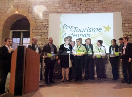 La 5ème édition des Prix du Tourisme Ardennais s'est déroulée jeudi 6 avril dernier au domaine de Vendresse, organisée par l'Agence de Développement Touristique (ADT), à l'initiative du Conseil Départemental et de la Préfecture des Ardennes
