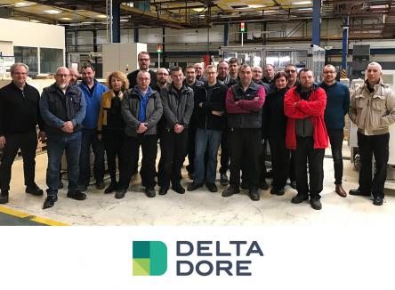 Delta Dore, pionnier français sur le marché de la maison et des bâtiments connectés a installé son unité Delta Dore Moteurs DDM dans les Ardennes, à Revin, depuis juin 2018