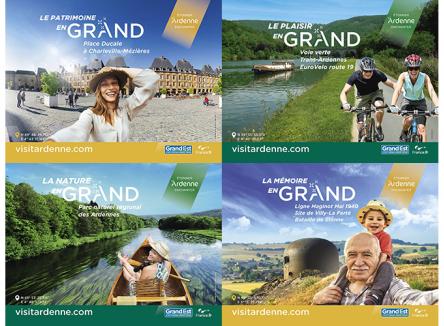 De mai à septembre 2019, l'ART Grand Est (Agence Régionale du Tourisme) en partenariat avec l'Agence de Développement Touristique des Ardennes et ses partenaires lance un plan de communication exceptionnel sur la destination Ardenne