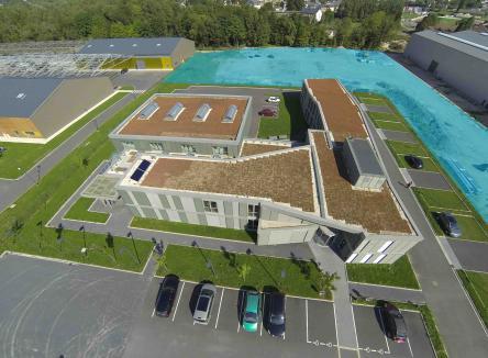 le Parc d'Activités du Val de Vence, à Charleville-Mézières dans les Ardennes au Nord-Est de la France, propose une offre foncière et immobilière adaptée à chaque demande