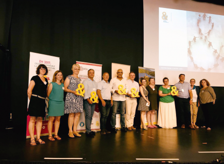 """Ardenne Ecotourism"", Franco-Belgian project led by Agence de Développement Touristique des Ardennes (ADTA), has just been awarded the 2018 Esperluette in Sustainable Tourism category"