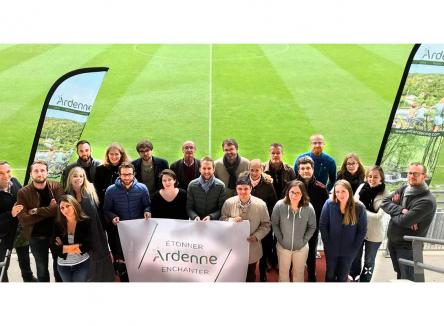 Les Rencontres de l'Ardenne 2018 se sont tenues le jeudi 6 décembre à Sedan dans les Ardennes, rassemblant des participants représentant les différents pays impliqués dans la même démarche touristique
