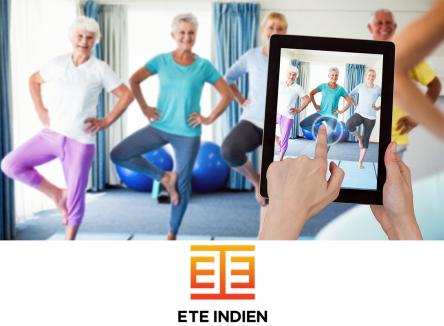 Accompagnée au sein de l'incubateur ardennais Rimbaud'Tech, la start-up Été indien conçoit et pilote des programmes durables et innovants de prévention de la santé des « jeunes » seniors par l'activité physique adaptée