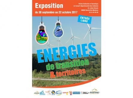 Jusqu'au 22 octobre 2017, l'exposition « Energies de transition & territoires » présente les projets locaux de développement durable à la Vitrine des Ardennes à Charleville-Mézières