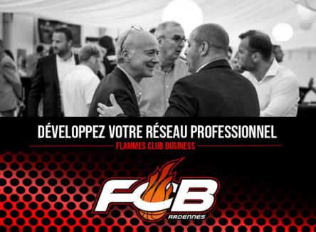 Autour de l'équipe féminine de basket de Charleville-Mézières « Les Flammes », se développe un réseau professionnel, le « Flammes Club Business »