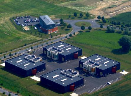 Givet Community Business Park, the business centre supports the installation of business activities