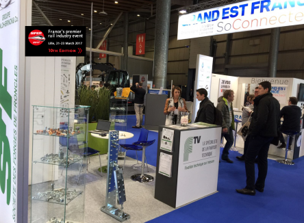 The 10th international railways industry trade show took place in Lille in March 2017. Several French Ardennes companies were present