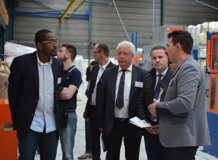 PLIE Plan Local pluriannuel pour l'Insertion et l'Emploi départemental, présidé par René CHOIN, Vice-Président chargé de l'action économique pour la Communauté de Communes Ardenne Rives de Meuse et membre du Conseil d'Ardennes Développement