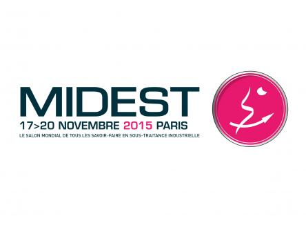 Du 17 au 20 Novembre 2015 se déroulera au Parc des expositions de Paris Nord Villepinte le salon Midest, consacré à la sous-traitance industrielle, dans les Ardennes au Nord Est de la France