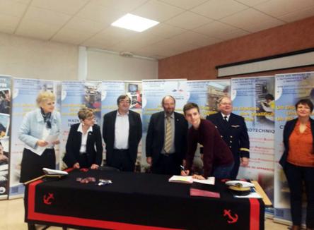 Lycée Jean-Baptiste Clément : de nouvelles opportunités professionnelles avec la Marine