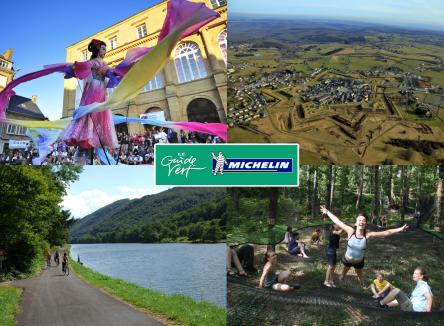 Les Ardennes sont distinguées dans le guide Michelin Vert édition Champagne-Ardenne 2017