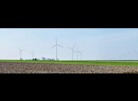 projet de parc éolien du Mont des Quatre Faux, dans les Ardennes au Nord-Est de la France
