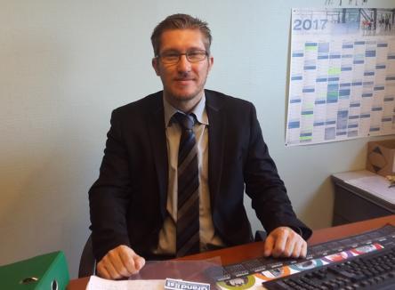 Olivier Cuissard, Directeur de l'agence territoriale Charleville-Mézières / Verdun