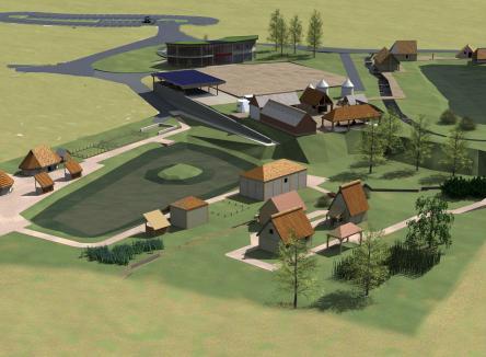 l'association Montcornet Remonte Le Temps travaille sur la réalisation de 5 villages de reconstitutions historiques