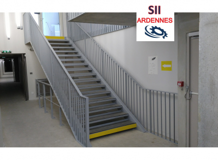 La société SII ARDENNES (anciennement Société Industrielle d'Intervention) implantée dans la ZAC du Boitron à Vivier-au-Court depuis plus de 20 ans