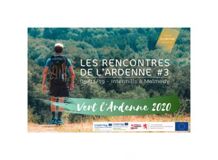 « Vert l'Ardenne 2020 », la troisième édition des Rencontres de l'Ardenne