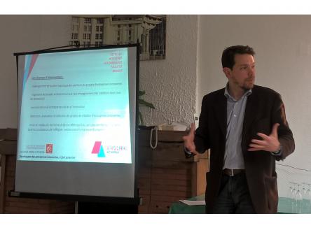 Boris Ravignon, président d'Ardenne Métropole, a présenté en avant-première l'incubateur territorial Rimbaud'Tech