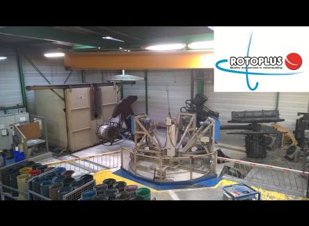 basée à Tournes, la société Rotoplus est un sous-traitant industriel spécialisé dans la fabrication de pièces rotomoulées