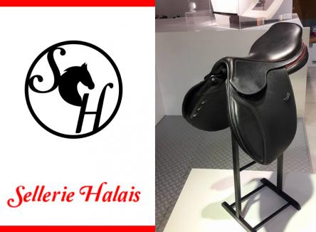 Spécialisée dans le travail du cuir fait main, la société Halais est un des derniers selliers-harnacheurs de France