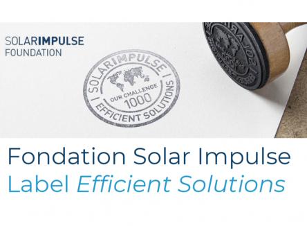 La fondation Solar Impulse a pour objectif d'identifier des solutions vertes innovantes.