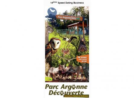 14ème édition du Speed Dating Business par la CCI des Ardennes au Parc Argonne Découverte - Ardennes 08 - Nord-Est de la France