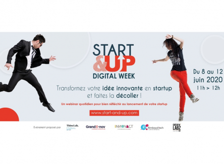 START&UP Digital Week : donnez vie à vos idées !