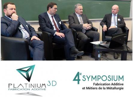 Jeudi 25 octobre 2018, plus de 150 participants se sont rassemblés à l'occasion du 4ème Symposium « Fabrication Additive et Métiers de la Métallurgie » à Charleville-Mézières, dans les Ardennes, et porté par Platinium 3D