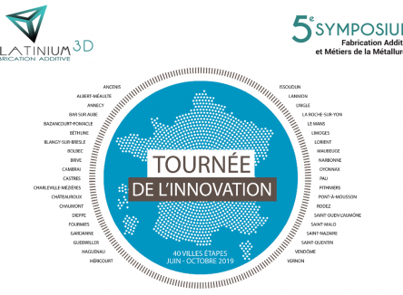 Le 17 octobre 2019 se tiendra le 5ème Symposium « Fabrication Additive et Métiers de la Métallurgie » au campus universitaire de Charleville-Mézières, dans les Ardennes
