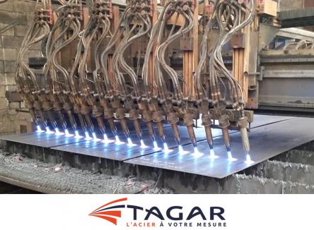 Leader de la transformation de l'acier, la société Tagar dans les Ardennes connait actuellement un fort développement international