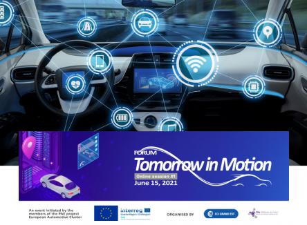 « Tomorrow in Motion » : rencontre d'entreprises du Pôle Automobile Européen le 15 juin