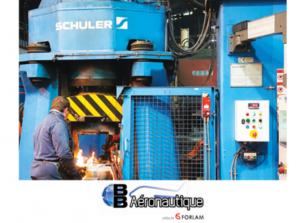 S'appuyant sur son expertise multi-process, l'entreprise ardennaise BB Aéronautique forge et usine des pièces de haute technicité pour les équipementiers et constructeurs du secteur aéronautique et de la défense