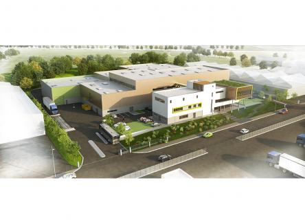 VALODEA (syndicat mixte de traitement des déchets ardennais) situé à Charleville-Mézières, dans les Ardennes, au Nord-Est de la France