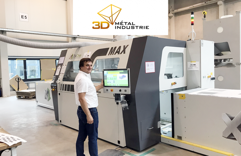 3D Metal Industrie: industrial scale additive manufacturing
