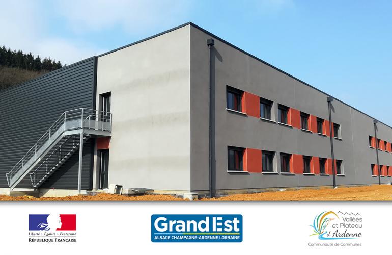 La « select' immo » d'Ardennes Développement : le nouveau bâtiment locatif du Parc d'Activités Actival