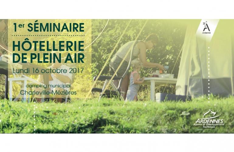 L'Agence de Développement Touristique des Ardennes (ADT) a organisé le premier séminaire hôtellerie de plein air afin de présenter ses travaux sur l'analyse du secteur